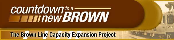 Countdown To A New Brown | The Brown Line Capacity Expansion Project